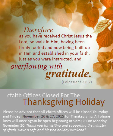 CF Thanksgiving
