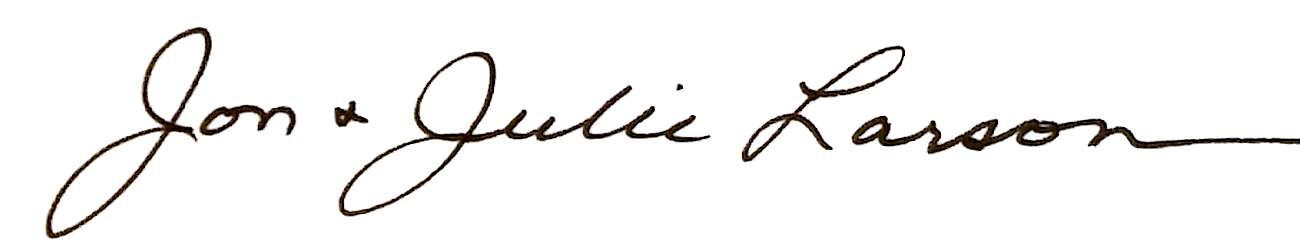 jon julie signature